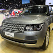 Stock Photo: NONTHABURI - NOVEMBER 28: Range Rover All New Range Rover ca
