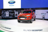 NONTHABURI - NOVEMBER 28: Ford All New Ecosport car on display a — Stock Photo