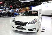NONTHABURI - NOVEMBER 28: Subaru Legacy car on display at The 30 — Foto de Stock