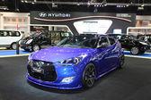 NONTHABURI - NOVEMBER 28: Hyundai Velaster Turbo car on display — ストック写真