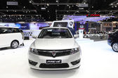 NONTHABURI - NOVEMBER 28: Proton Preve car on display at The 30t — Stock Photo