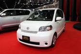 NONTHABURI - NOVEMBER 28: Toyota Porte car on display at The 30t — Stock Photo