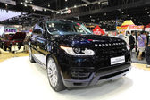 NONTHABURI - NOVEMBER 28: Range Rover The All New Range Rover Sp — Stock Photo