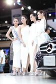 BANGKOK - MARCH 31 : The Mercedes-Benz with Unidentified model on display at The 34th Bangkok International Motor Show 2013 on March 31, 2013 in Bangkok, Thailand. — Stock Photo