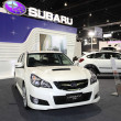 ������, ������: Subaru LEGACY 2 5 GT on display at Bangkok International Auto Salon 2013 on June 20 2013 in Bangkok Thailand