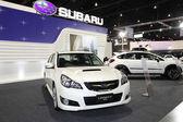 Subaru LEGACY 2.5 GT on display at Bangkok International Auto Salon 2013 on June 20, 2013 in Bangkok, Thailand. — Stock Photo