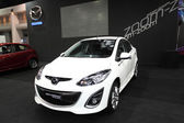 New Mazda 2 Limited Edition on display at Bangkok International Auto Salon 2013 on June 20, 2013 in Bangkok, Thailand. — Foto de Stock