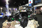 Polaris car on display at Bangkok International Auto Salon 2013 on June 20, 2013 in Bangkok, Thailand. — Stock Photo