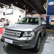 Постер, плакат: NONTHABURI March 25: Land Rover Freelander car on display at