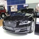 NONTHABURI - March 25: Jaguar XJ car on display at The 35th Bang — Stock Photo #43718967