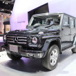 NONTHABURI - March 25: Mercedes Benz The New G-Class car on disp — Stock Photo #43719623