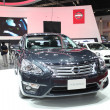 Постер, плакат: NONTHABURI March 25: Nissan Teana car on display at The 35th B