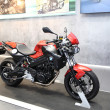 Постер, плакат: BANGKOK MARCH 25 : BMW F800R Motorcycle on display at The 35th