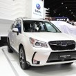 ������, ������: BANGKOK MARCH 25 : Subaru Forester 2 0 XT car on display at Th