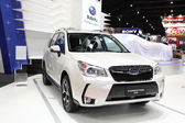 BANGKOK - MARCH 25 : Subaru Forester 2.0 XT car on display at Th — Stock Photo