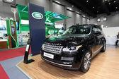 BANGKOK - August 19: Range Rover car on display at Big Motor sal — Stock Photo