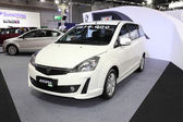 BANGKOK - August 19: Proton Exora LPG car on display at Big Moto — Stock Photo