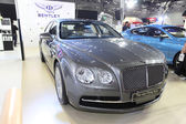 BANGKOK - August 19: Bentley The new Flying Spur car on display  — Stock Photo