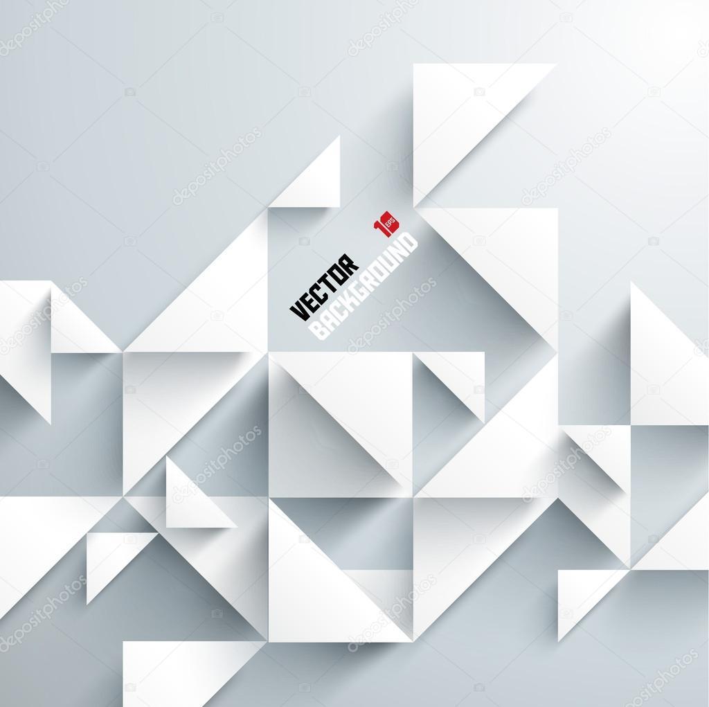 Dessin g om trique 3d abstrait image vectorielle for Architecture geometrique