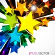 Abstract vector background. - Stockvektor