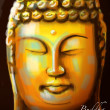 Vector Buddha Painting - Vettoriali Stock 