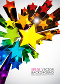Abstract vector background. — Vecteur
