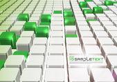 Vector 3D Digital Art — Stock Vector