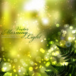 Blurry Lights in Nature — Imagen vectorial