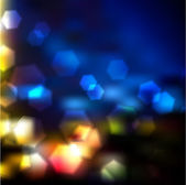 Vector Blurry Lights Pattern — Stock Vector