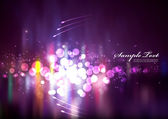 Abstracte Ultra-violet licht — Stockvector
