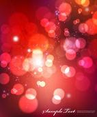 Vector Red Lights Texture — Stock Vector