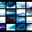 Vector Background Set — Stock Vector #28354977