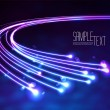 Optical Fibers — Grafika wektorowa