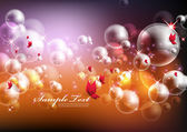 Dreamy Bubbles — Stock Vector