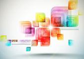 Colorido arte digital — Vector de stock