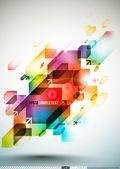Colorful Digital Art — Stock Vector