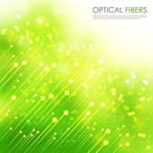 Optical Fibers — Stock Vector