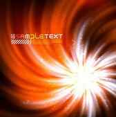 Vector Explosive Glow — Stock Vector
