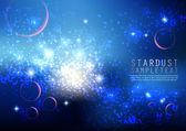 Star Dusts — Stock Vector