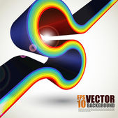 Vector Stripe Design — Stock Vector