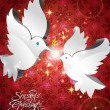 Vector de stock : Vector Dove of Peace