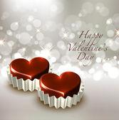 Valentine's Chocolate — Stock Vector