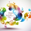 Valentine's Day Card Element — Stock Vector #39899913