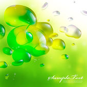 Dreamy Bubbles — Stock Vector