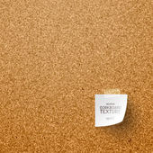 Corkboard Texture — Stock Vector