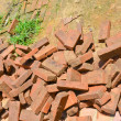 Stock Photo: Scrap bricks