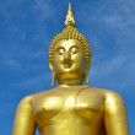 Big statue image of buddha — Stock Photo #38680497