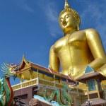 Big statue image of buddha — Stock Photo #38680467