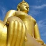 Big statue image of buddha — Stock Photo #38680501