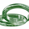 Stock Photo: Ring jade.